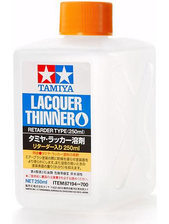 タミヤ ラッカー溶剤 リターダー入り 250ml溶剤(タミヤラッカー溶剤No.87194)商品画像
