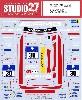 メルセデス AMG GT3 #30 ニュルブルクリンク 24時間 2016 デカール