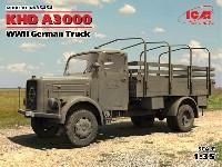 ICM1/35 ミリタリービークル・フィギュアドイツ KHD A3000 トラック