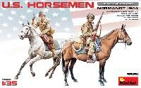 アメリカ 乗馬兵 ノルマンディー 1944