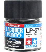 タミヤタミヤ ラッカー塗料LP-27 ジャーマングレイ
