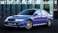 ハセガワ1/24 自動車 限定生産三菱 ランサー GSR エボリューション 6