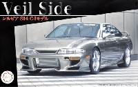 フジミ1/24 インチアップシリーズヴェイルサイド シルビア S14 C-Iモデル