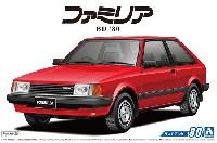 アオシマ1/24 ザ・モデルカーマツダ BD ファミリア XG '80