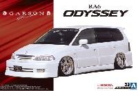 アオシマ1/24 ザ・チューンドカーギャルソンジェレイド RA6 オデッセイ '01 (ホンダ)