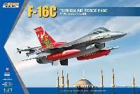 キネティック1/48 エアクラフト プラモデルF-16C ファイティングファルコン トルコ空軍