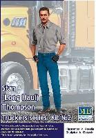 マスターボックスピンナップ (Pin-up)スタン・トンプソン (トラックドライバー) (トラッカーシリーズ)