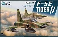 キティホーク1/32 エアモデルF-5E タイガー2 w/フィギュア 2体