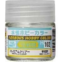 GSIクレオス水性ホビーカラープレミアムクリアー 半光沢