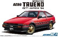 アオシマ1/24 ザ・モデルカートヨタ AE86 スプリンタートレノ GT-APEX '84