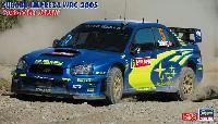 ハセガワ1/24 自動車 限定生産スバル インプレッサ WRC 2005 2005 ラリー ジャパン