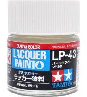 タミヤタミヤ ラッカー塗料LP-43 パールホワイト