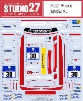 スタジオ27ツーリングカー/GTカー オリジナルデカールメルセデス AMG GT3 #30 ニュルブルクリンク 24時間 2016 デカール