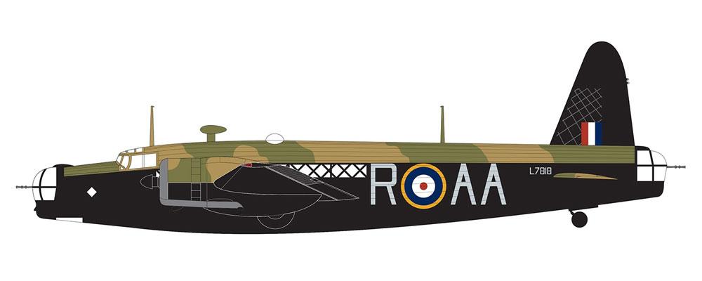 ヴィッカース ウェリントン Mk.1A/Cプラモデル(エアフィックス1/72 ミリタリーエアクラフトNo.A08019)商品画像_2