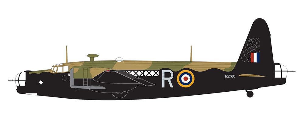 ヴィッカース ウェリントン Mk.1A/Cプラモデル(エアフィックス1/72 ミリタリーエアクラフトNo.A08019)商品画像_3