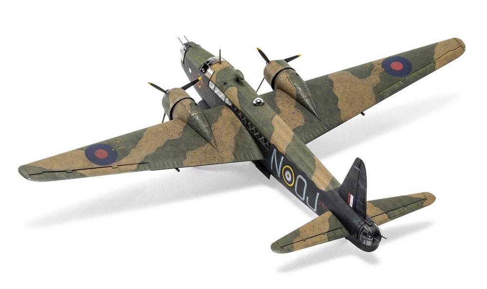 ヴィッカース ウェリントン Mk.1A/Cプラモデル(エアフィックス1/72 ミリタリーエアクラフトNo.A08019)商品画像_4