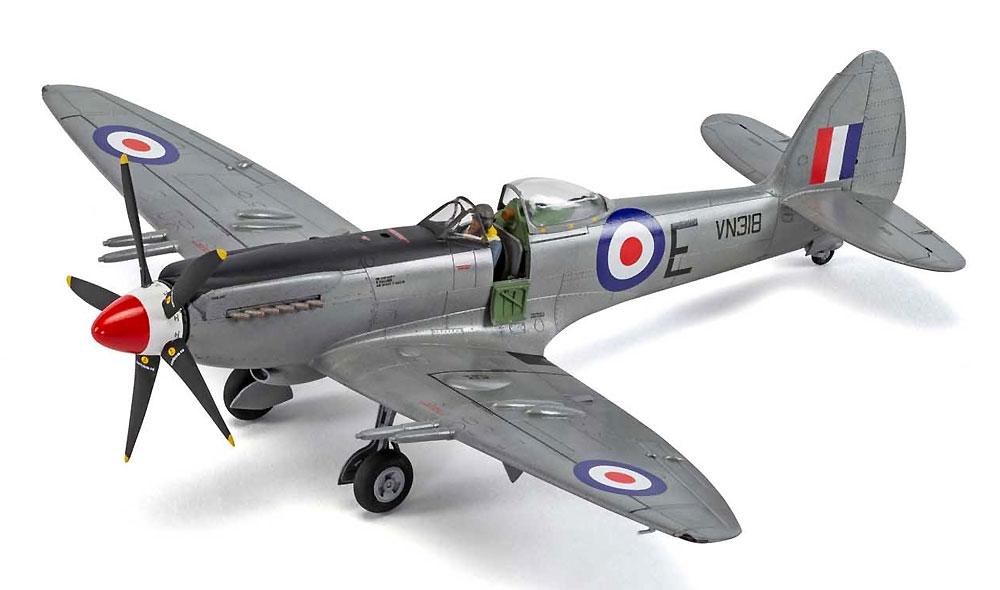 スーパーマリーン スピットファイア F. Mk.22/24プラモデル(エアフィックス1/48 ミリタリーエアクラフトNo.A06101A)商品画像_3