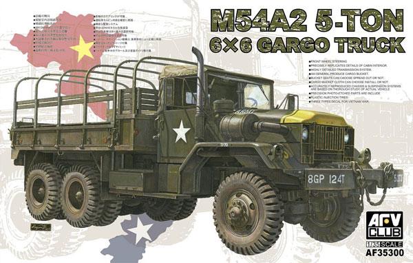 M54A2 5t 6x6 カーゴトラックプラモデル(AFV CLUB1/35 AFV シリーズNo.AF35300)商品画像
