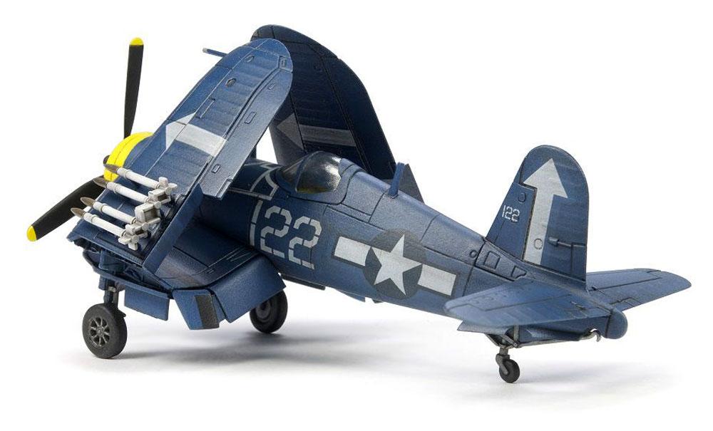 F4U コルセア 艦上戦闘機 (主翼折畳状態)プラモデル(AFV CLUB1/144 エアクラフトシリーズNo.AR14408)商品画像_2