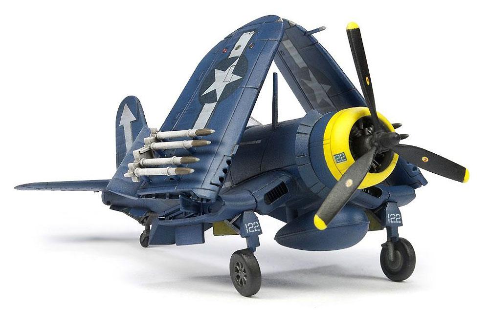 F4U コルセア 艦上戦闘機 (主翼折畳状態)プラモデル(AFV CLUB1/144 エアクラフトシリーズNo.AR14408)商品画像_3