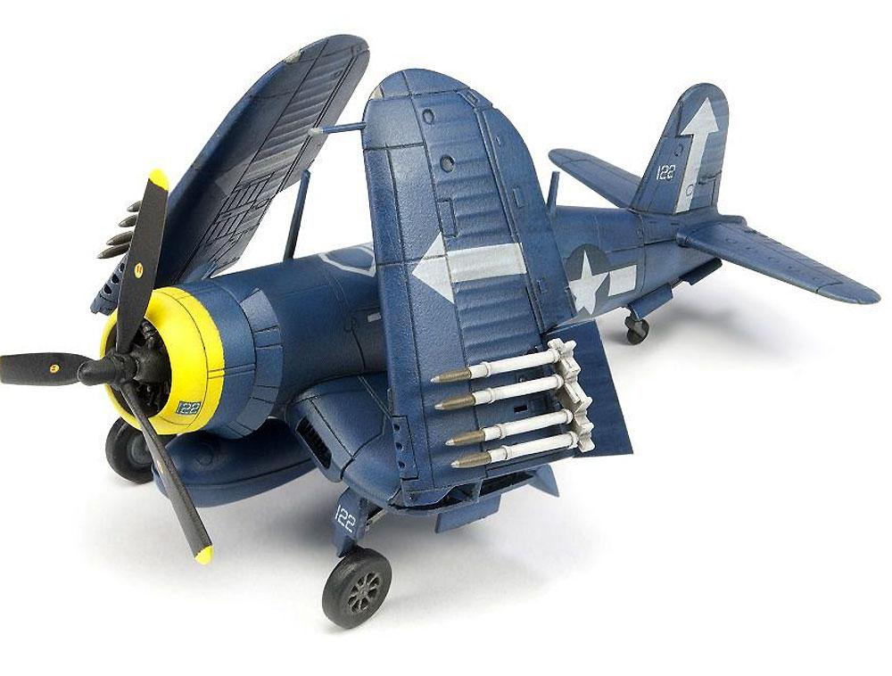F4U コルセア 艦上戦闘機 (主翼折畳状態)プラモデル(AFV CLUB1/144 エアクラフトシリーズNo.AR14408)商品画像_4