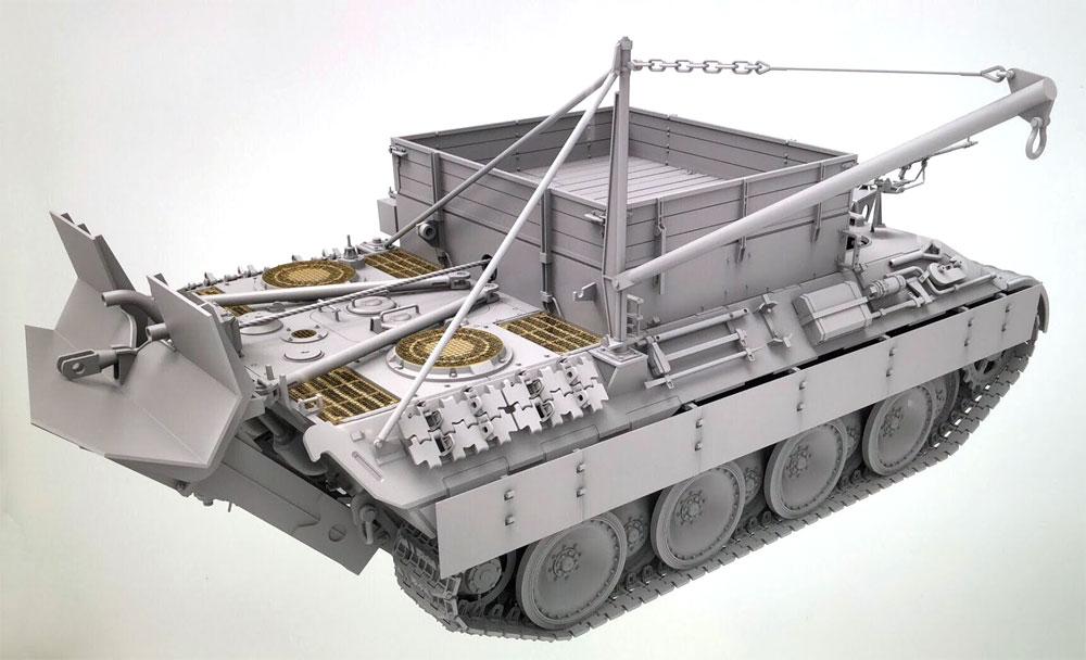 ベルゲパンター A型 デマーグ工場製プラモデル(タコム1/35 ミリタリーNo.2101)商品画像_3
