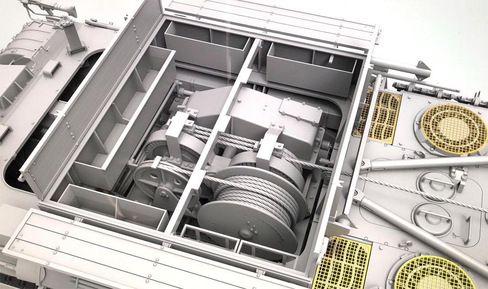 ベルゲパンター A型 デマーグ工場製プラモデル(タコム1/35 ミリタリーNo.2101)商品画像_4