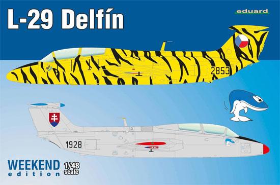 L-29 デルフィンプラモデル(エデュアルド1/48 ウィークエンド エディションNo.8464)商品画像