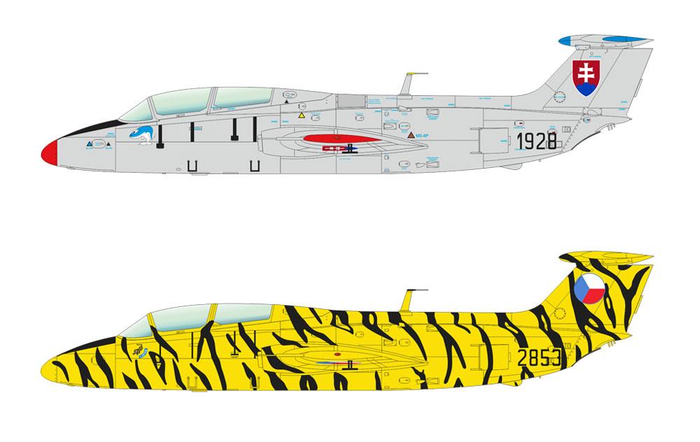 L-29 デルフィンプラモデル(エデュアルド1/48 ウィークエンド エディションNo.8464)商品画像_3