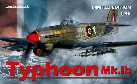 ホーカー タイフーン Mk.1bプラモデル(エデュアルド1/48 リミテッドエディションNo.11117)商品画像