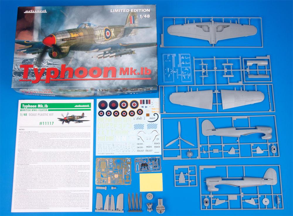 ホーカー タイフーン Mk.1bプラモデル(エデュアルド1/48 リミテッドエディションNo.11117)商品画像_1