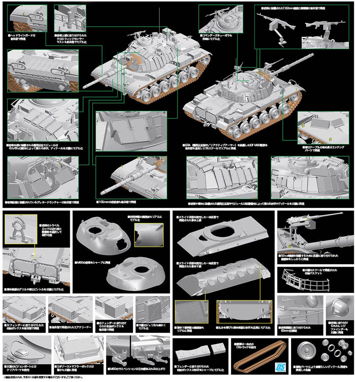 IDF マガフ 5 ERA w/マインローラープラモデル(ドラゴン1/35 MIDDLE EAST WAR SERIESNo.3618)商品画像_2