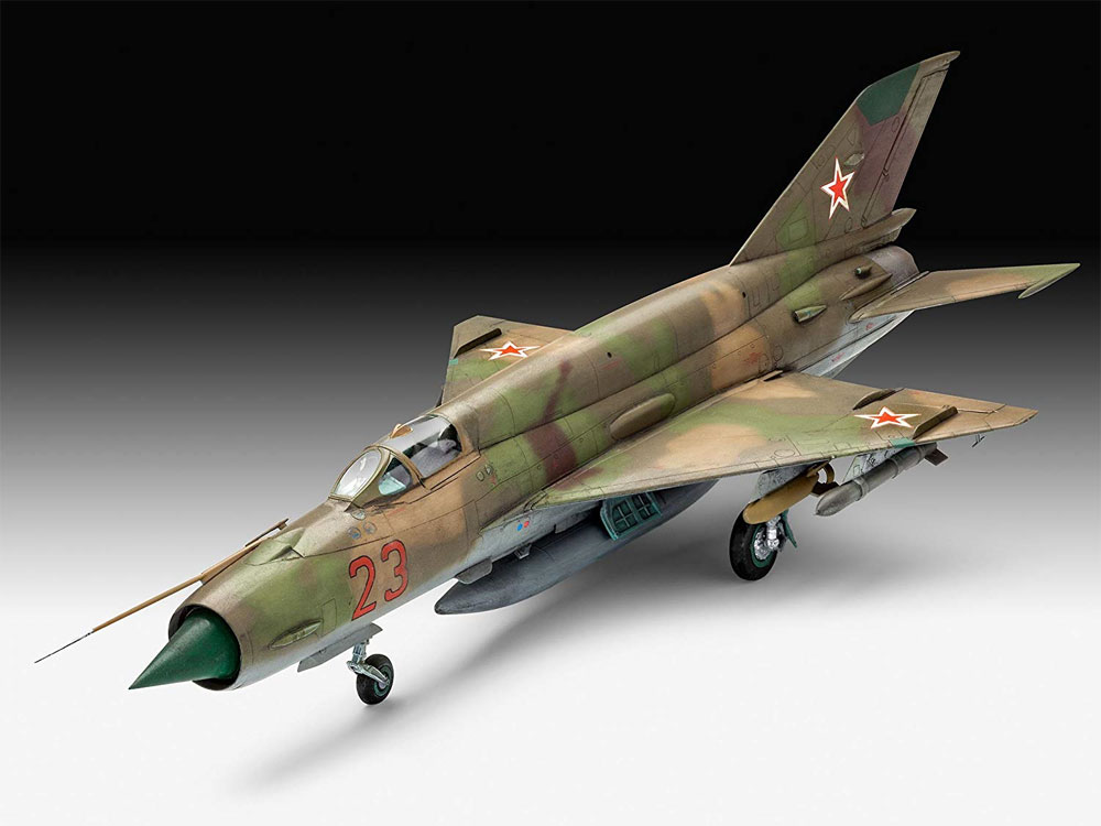 MiG-21SMTプラモデル(レベル1/48 飛行機モデルNo.03915)商品画像_2