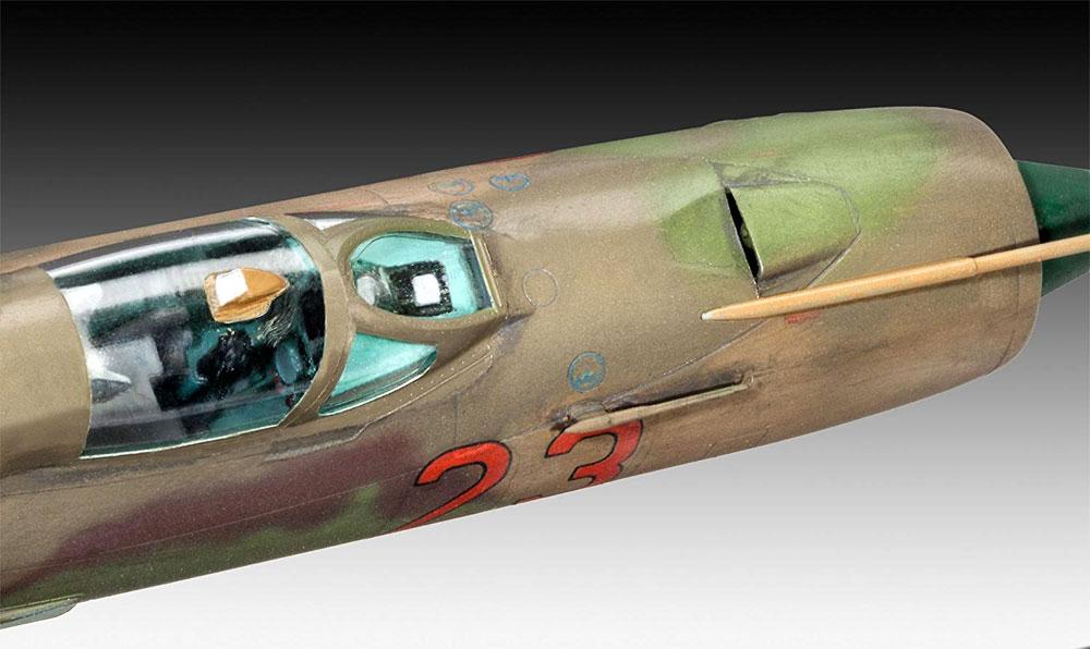 MiG-21SMTプラモデル(レベル1/48 飛行機モデルNo.03915)商品画像_3