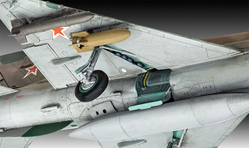 MiG-21SMTプラモデル(レベル1/48 飛行機モデルNo.03915)商品画像_4