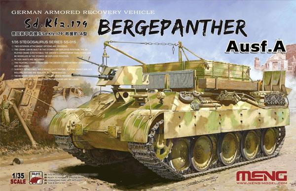 ドイツ 戦車回収車 Sd.Kfz.179 ベルゲパンター A型プラモデル(MENG-MODEL1/35 ステゴザウルス シリーズNo.SS-015)商品画像