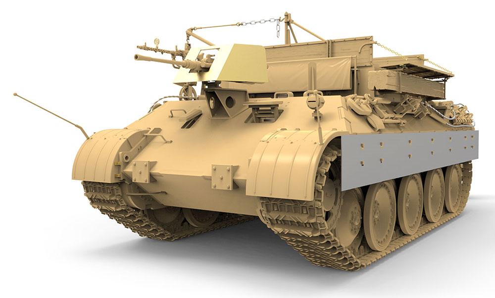 ドイツ 戦車回収車 Sd.Kfz.179 ベルゲパンター A型プラモデル(MENG-MODEL1/35 ステゴザウルス シリーズNo.SS-015)商品画像_3
