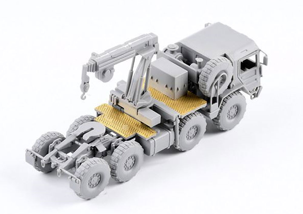 ドイツ KAT1 M1001 8x8 高機動オフロードトラックプラモデル(モデルコレクト1/72 AFV キットNo.UA72119)商品画像_4