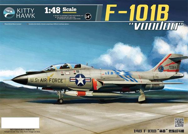F-101B ヴードゥープラモデル(キティホーク1/48 ミリタリーNo.KH80114)商品画像