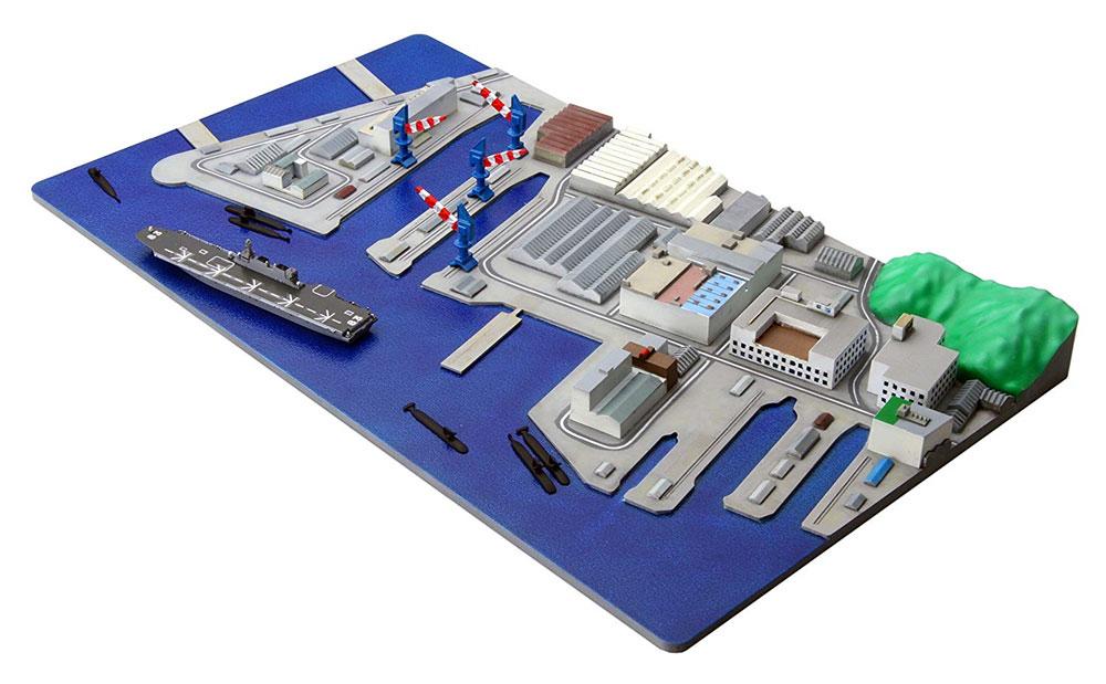 米軍横須賀基地プラモデル(フジミ集める軍港シリーズNo.005)商品画像_3