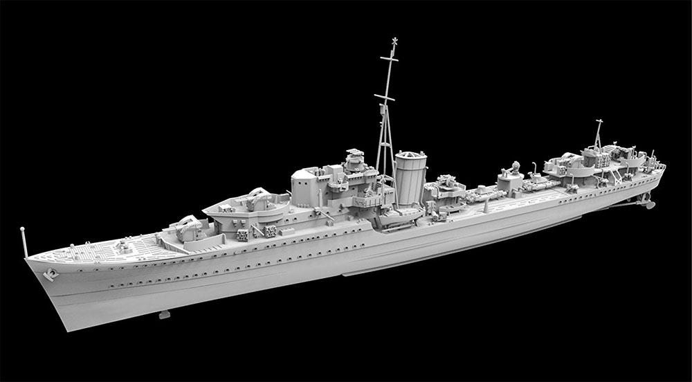 イギリス海軍 駆逐艦 リージョン 1941年 デラックスエディションプラモデル(フライホーク1/700 艦船No.FH1103S)商品画像_2