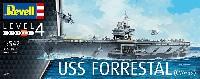 レベルShips(艦船関係モデル)USS フォレスタル CVA-59