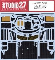 スタジオ27ツーリングカー/GTカー カーボンデカールポルシェ 911GT1 カーボンデカール