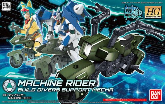 マシンライダープラモデル(バンダイHGBC ビルドカスタムNo.041)商品画像