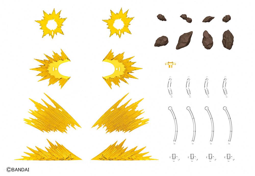 衝撃波 イエロープラモデル(バンダイフィギュアライズ エフェクトNo.2434708)商品画像_1