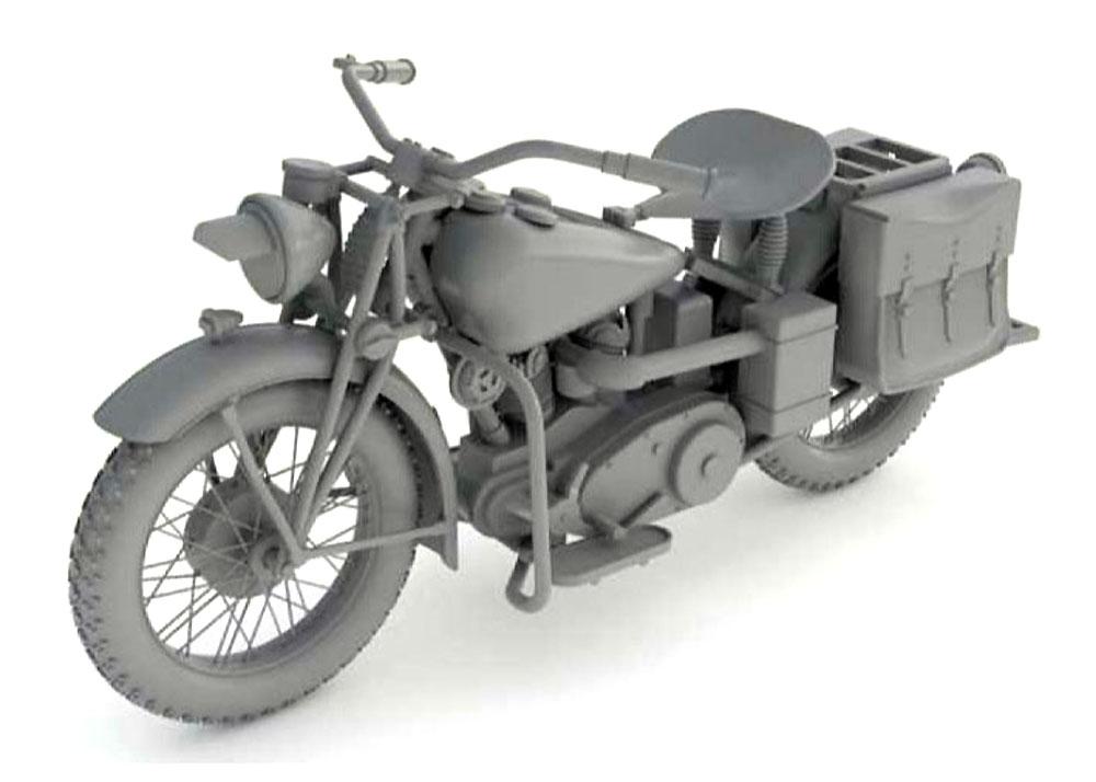 アメリカ 軍用バイク インディアン 741Bプラモデル(サンダーモデルプラスチックモデルキットNo.35003)商品画像_2