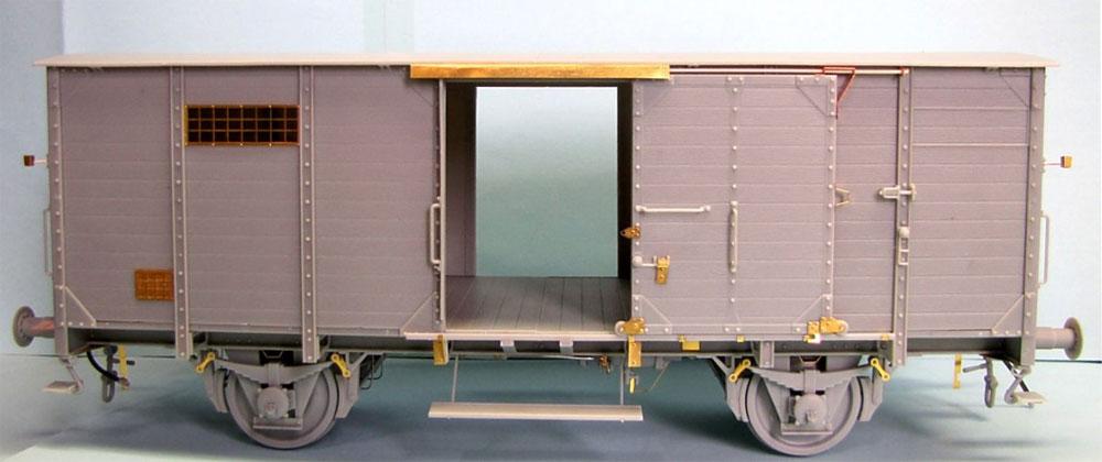ドイツ 有蓋貨車 G10プラモデル(サンダーモデルプラスチックモデルキットNo.35901)商品画像_2