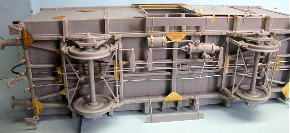 ドイツ 有蓋貨車 G10プラモデル(サンダーモデルプラスチックモデルキットNo.35901)商品画像_3