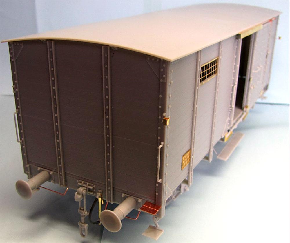 ドイツ 有蓋貨車 G10プラモデル(サンダーモデルプラスチックモデルキットNo.35901)商品画像_4