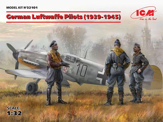 ドイツ空軍 パイロット 1939-1945プラモデル(ICM1/32 エアクラフトNo.32101)商品画像